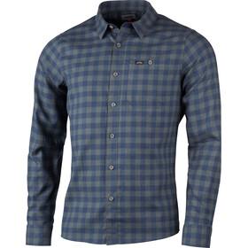Lundhags Ekren Koszulka z długim rękawem Mężczyźni, niebieski